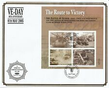 PALAU 9 MAY 2005 VE DAY ANNIVERSARY M/SHEET O/S VLE FIRST DAY COVER a