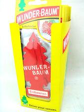 24 piezas 24 Pack Wunderbaum FRESAS Ambientador Ambientador perfume aroma