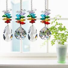 Beauty Rainbow Maker Crystal Suncatcher Chandelier Ball Prism Pendant Decor Hot