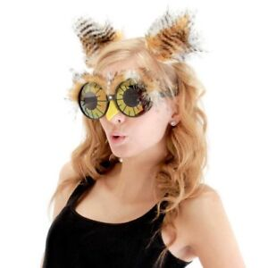 Owl Ears Costume Headband and Glasses for Women by elope