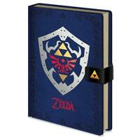 The Legend Of Zelda Premium Notebook Note Book Pad Journal Diary Gamer Official