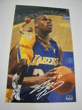 """Danny Day """"Shaquille O'Neal"""" Giclee On Canvas Double Signed"""