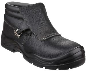 Centek FS332 Glyder Welding Mens Leather Ankle Safety Boots Steel Toe Cap