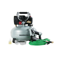 Metabo Hpt 18 Gauge Brad Nailer And Pancake Compressor Combo Kit Knt50Ab new
