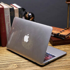 """Macbook Hard Case for Mac book Air Pro 11 13 15"""" New 12"""" Laptop Rubberized Cover"""