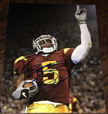 REGGIE BUSH SIGNED AUTOGRAPH USC STAR ACTION POSE NEW 11X14 PHOTO COA
