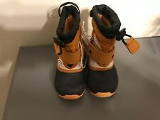 Cat & Jack toddler winter boots size 4 fox boys bernardo