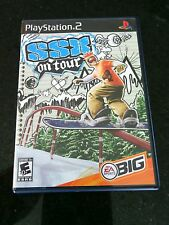 SSX On Tour Sony PlayStation 2, 2005 PS2 Snowboarding Skiing Game Everyone Fun