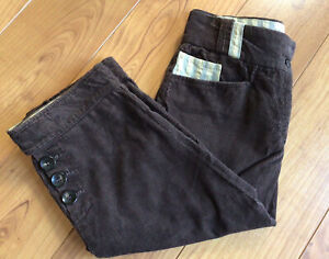 Liberty Freedom Womens Size 10 Brown Cord Breeks. Duchess Punk  Country Wear