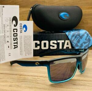 NEW Costa Del Mar OCEARCH RINCONCITO Polarized Sunglasses Ocean Fade Gray 580P