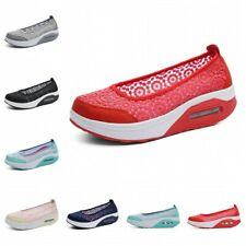 35-41 Womens Breathable Comfort Outdoor Leisure Sneakers Running Walking Shoes D
