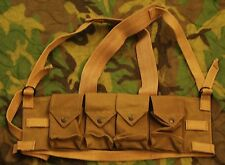 Reproduction Rhodesian Fereday and Sons Magazine Chest Rig Canvas Tan New