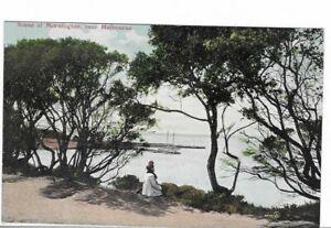 VINTAGE POSTCARD SCENE AT MORNINGTON,NEAR MELBOURNE