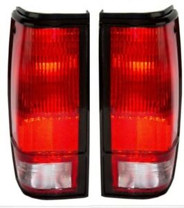 1982-1993 GMC S15 Chevy S10 Left&Right Taillight Taillamp Tail Lamp Light Pair