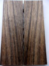 EXOTIC WOOD SHEDUA / OVANGKOL KNIFE HANDLE SCALES BLANK TOP QUALITY CRAFT HOBBY