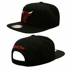 Mitchell & Ness Chicago Bulls Adjustable Snapback Adults Cap Hat Black NL99Z CB