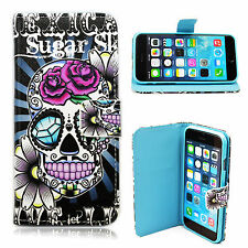 """Leather Case Magnetic Soft Rubber Flip Cover Stand For Apple iPhone 6 6s 4.7"""""""