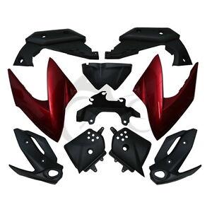 Ensemble de capot de carénage de carrosserie rouge pour Yamaha XJ6 2009-2012
