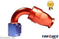 Un -12 (12an jic-12) 120 Grados De Teflon Ptfe fuel/oil/pas Manguera Accesorio