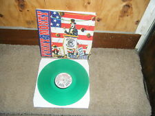 Funny Money Back Again Solid Green Vinyl LP KIX Glam Hair Melodic Metal Private