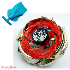 Beyblade BB121A WING PEGASIS 90WF Metal Masters Fusion+Single spin Launcher