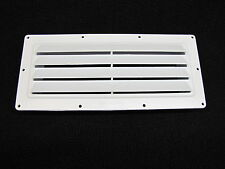 RV Mobile Home Parts Ventline Exterior Sidewall Vent Range Hood Stove Vent White