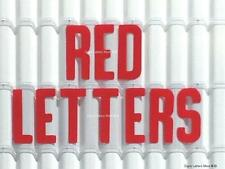 8 Inch Flexible Plastic Outdoor Marquee Sign Red Letters 300 Count