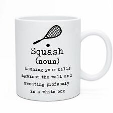 Squash (Noun) Mug - Funny Novelty Tea Coffee Ceramic Gift Idea Player