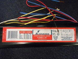ADVANCE MARK 111 ENERGY SAVER V-2S40-1-TP RAPID START BALLAST 277V 60 HZ (H2-2)