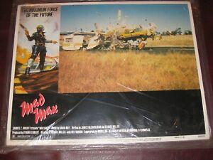 MAD MAX Original US Lobby cards set of 8 1979