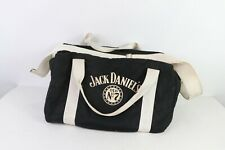 70s Jack Daniel's Old No 7 Whiskey Spell Out Insulated Cooler Bag Black Nylon