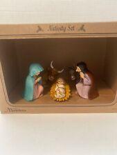 Moranduzzo 5 Pc Nativity Set Brand New In Box. Made In Italy