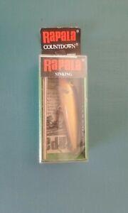 Rapala CD-07- gold Sinking Minnow In It's Original Box...