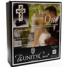 The Unity Cross Pearlescent Unity Wedding Cross Centerpiece Christian