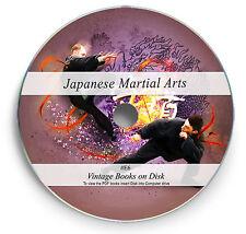 Martial Arts Japanese Jiu Jitsu Samurai Sword Ancient Defence 23 Books on DVD E6
