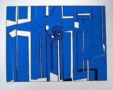 YRAOLA, Ignacio 1973. Serigrafía 25/100. 69 X 50 Cm.