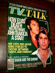 ELVIS, TRAVOLTA, Peter Frampton - TV Radio Talk Magazine 1978