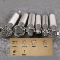 Leather Printing Tool Alloy Carving Making Craft System Punch Stamps Leatherwear