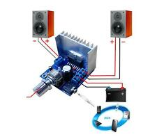 TDA7297 Version B Digital Audio Amplifier Board Dual-Channel AC/DC 12V 15W 2A
