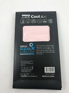 Let's Slim Aqua X Ice Skin +UV- Cut Seamless Sports Cool Wristlet 7 Color Choice