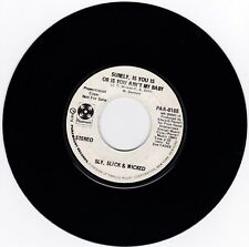 70'S SOUL 45RPM - SLY, SLICK, AND WICKED ON PARAMOUNT - RARE PROMO!