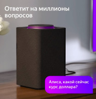 Яндекс Станция Yandex Station Smart speaker assistant ALICE / АЛИСА Russia