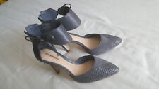 Gianni Bini Womens Sandals High Heels Pointy Toe Grey Color Size 8M