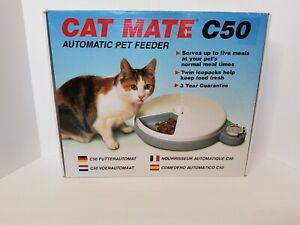 Cat Mate Automatic Pet Feeder With Timer.