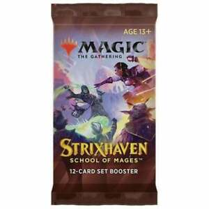Strixhaven School of Mages Set Booster Pack - Magic The Gathering MTG Sealed