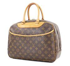 Authentic LOUIS VUITTON Deauville Monogram Handbag Purse #32335