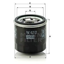 Mann Oil Filter Spin On For Chevrolet Spark 0.8 1.0 SX