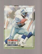 1993 Pro Set Power #20 Barry Sanders card, Detroit Lions HOF