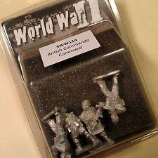Artizan Designs - SWW114 - British Commandos Command - For Bolt Action WW2