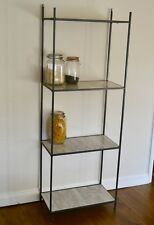 Wrought Iron Shelving unit/ Bedroom shelves/ Kitchen shelves